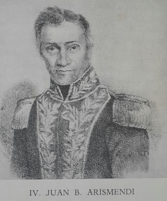 Juan Bautista Arismendi en el Resumen de Historia de Venezuela de Baralt y Díaz.