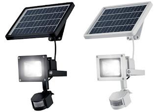 Reflektor solarny z czujnikiem ruchu LivarnoLux z Lidla