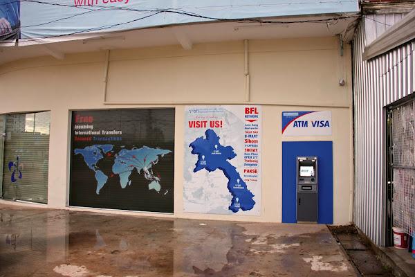 Cajeros automaticos en Savannakhet