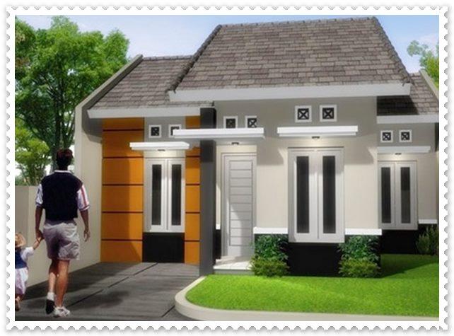 gambar rumah minimalis sederhana tampak depan
