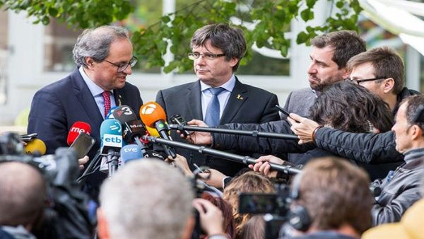 Puigdemont anuncia creación de partido político en Cataluña