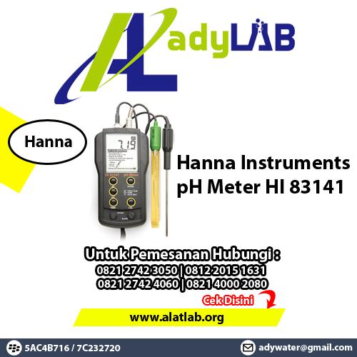 0812 2445 1004 Harga pH Meter Hanna Instrument Di Surabaya Supplier pH Meter  Ady Water
