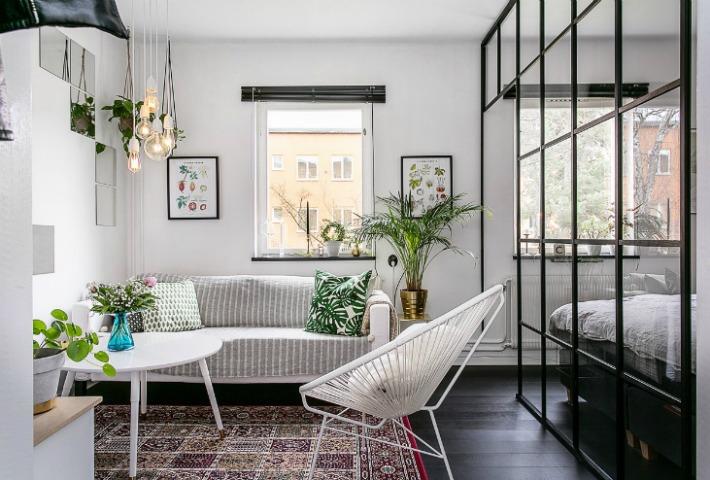 Decoraci n f cil mini apartamento con distribuci n ptima - Mini apartamentos ...