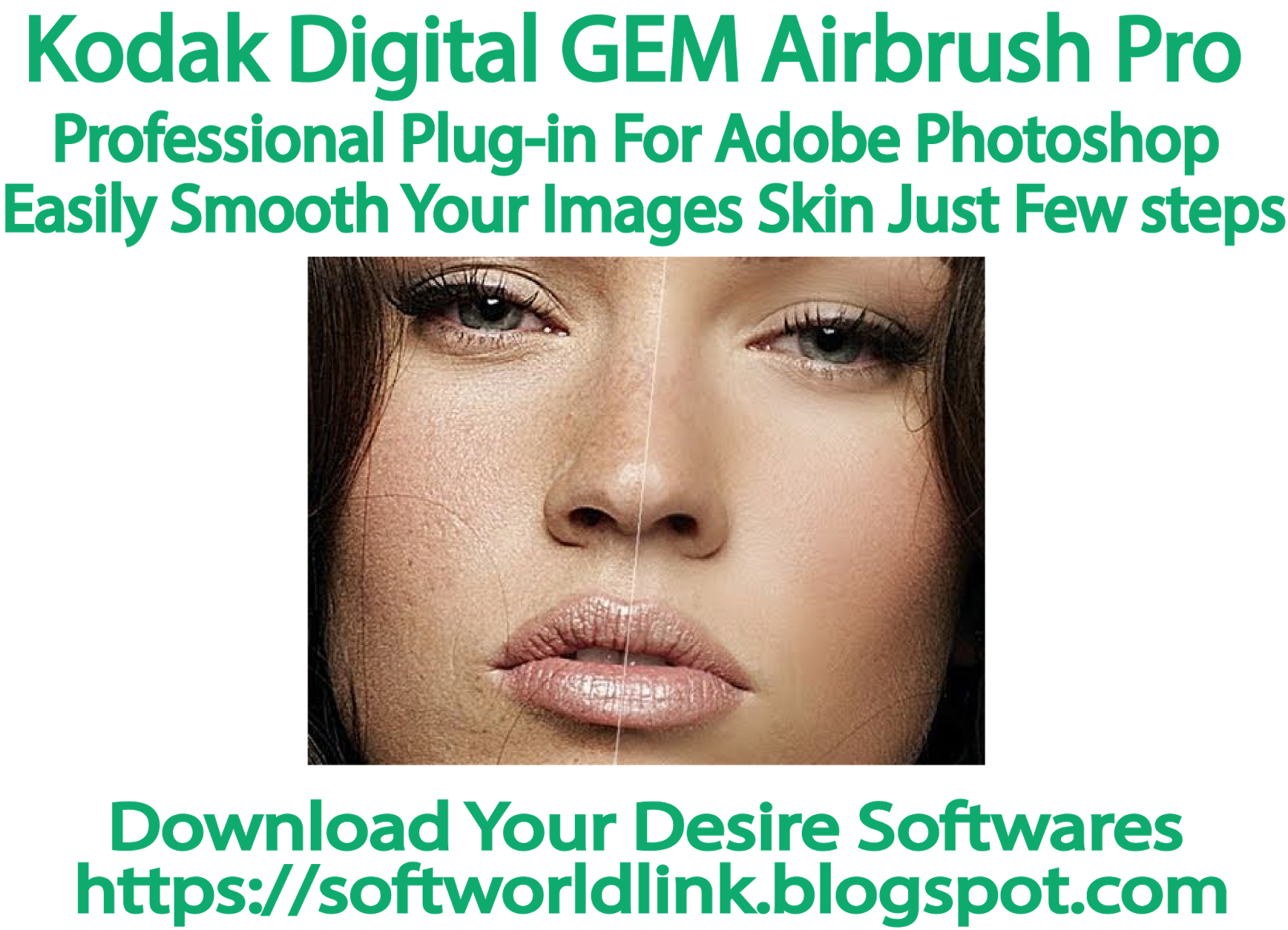 Kodak Digital GEM Airbrush Pro-Professional plug-in for adobe