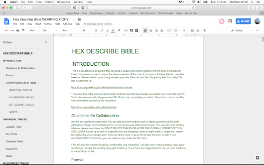 How to Add Entries to the Hex Describe Bible (With Pictures!)