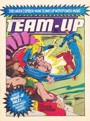 Team Up #22, Marvel UK, Fantastic Four vs Sub-Mariner