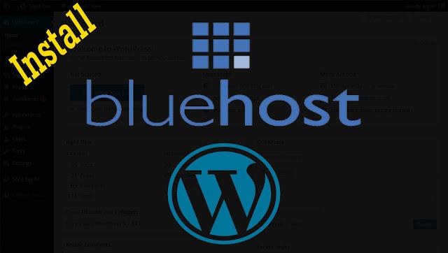 تركيب ووردبريس على استضافة بلوهوست (Bluehost) بكبسة زر