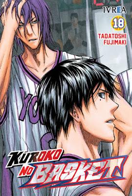 """Kuroko no Basket"" (黒子のバスケ) vols. 17 y 18 de Tadatoshi Fujimaki"