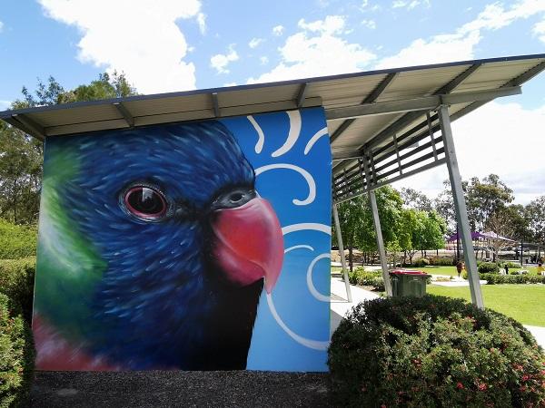 Street Art in Mount Annan