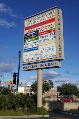 My Street Corner Mini-Mall During Convid-19