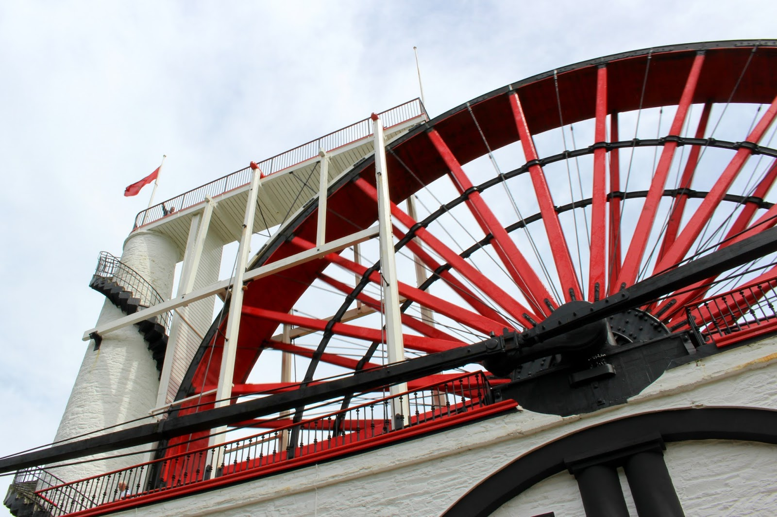 Isle Of Man Photo Diary Laxey wheel