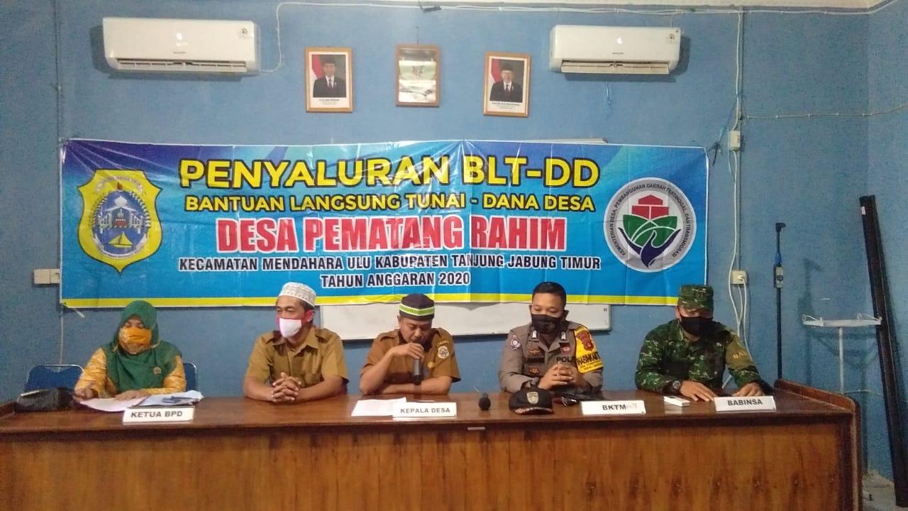 BLT DD Tahap III Desa Pematang Rahim Sukses Disalurkan