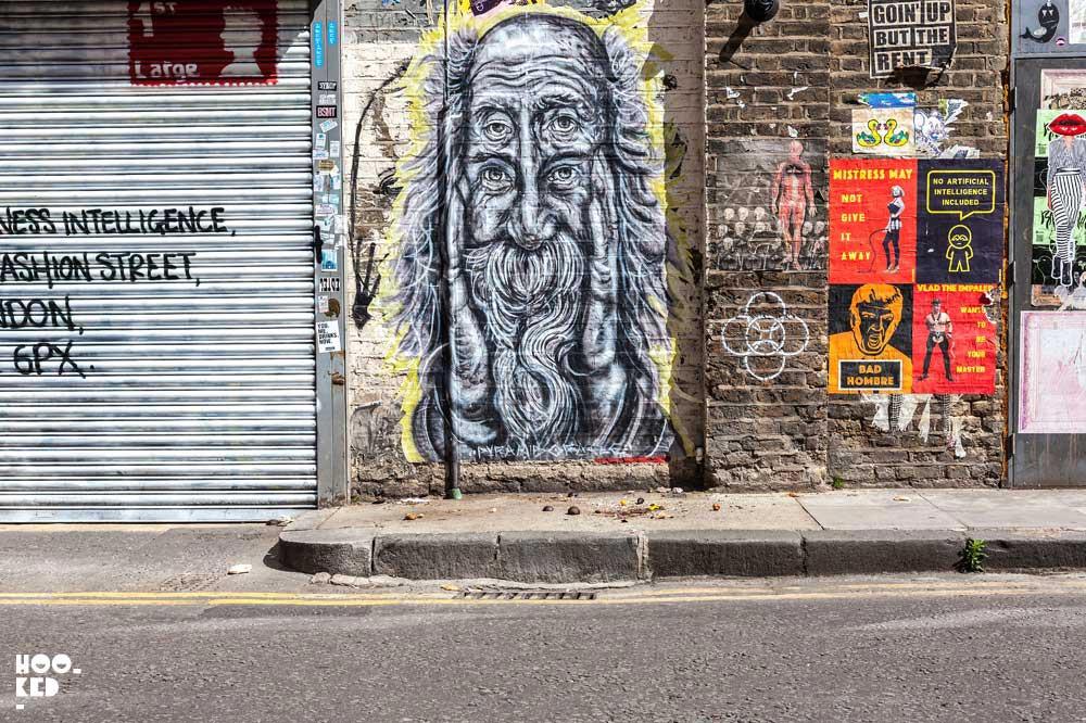 Street Art Tour of Brick Lane, London