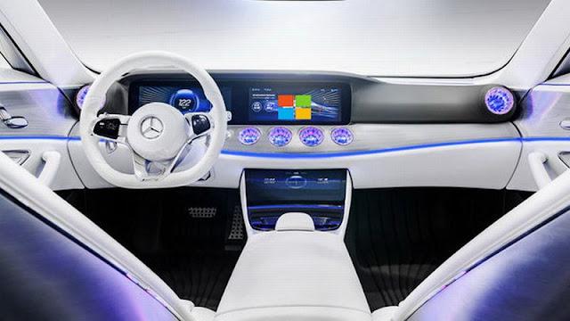 Marcedez Benz dengan microsoft