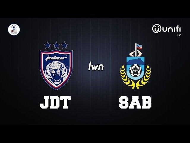 Live Streaming JDT vs Sabah liga Super 2.10.2020