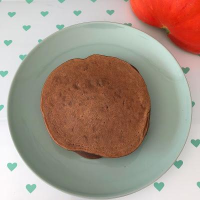 pancakes vegan potiron, châtaigne et graines de courges