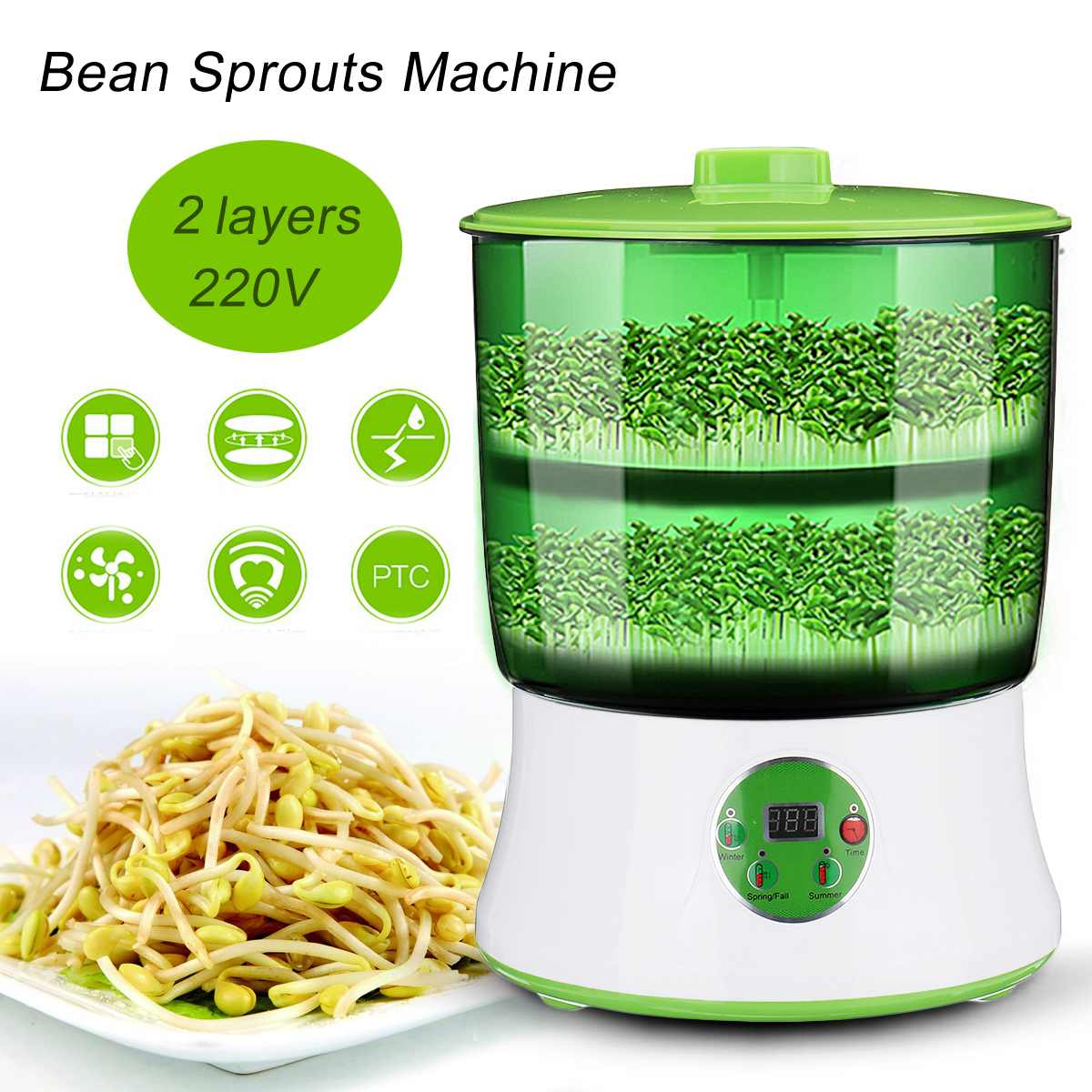 Cereal Growing Machine Buy on Amazon and Aliexpress