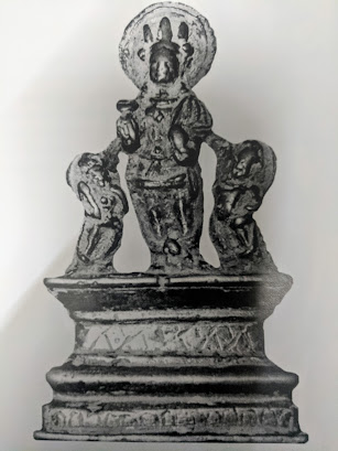 Krishna idol Kashmir 9th century