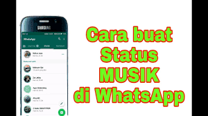 Cara Bikin Status Lagu di WhatsApp