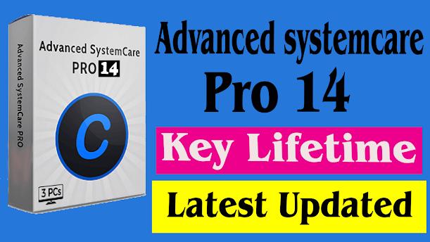 Advanced systemcare pro lifetime license key Latest Update 2021