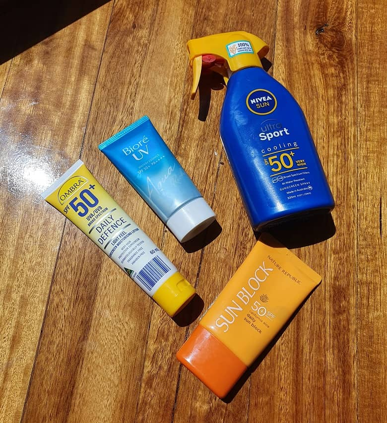 top recommended sunscreen lotion