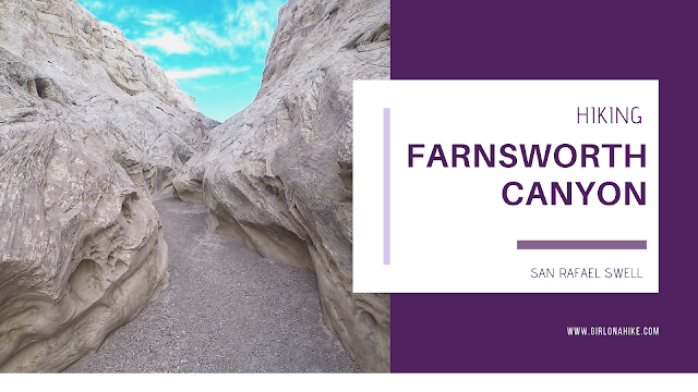The 6 Best Trails in The San Rafael Swell, Hiking Farnsworth Canyon