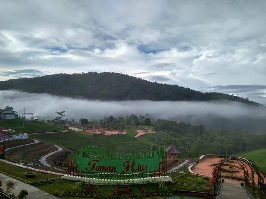 Taman Hias Kebun Raya Liwa Lampung Barat