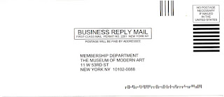 Museum of Modern Art Solicitation
