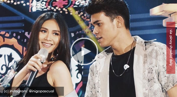 Iñigo Pascual shares how it feels to be performoing with Sarah Geronimo