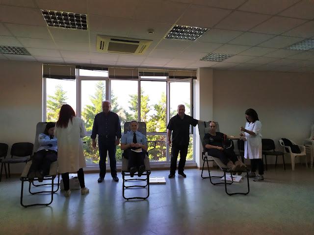 Με επιτυχία η 7η Εθελοντική Αιμοδοσία της Διεθνούς Ένωσης Αστυνομικών Αργολίδας
