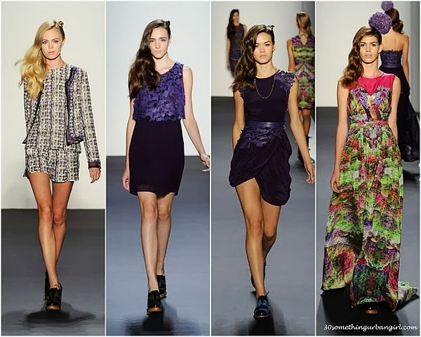 Emerson by Jackie Fraser-Swan S/S2014 runway dresses