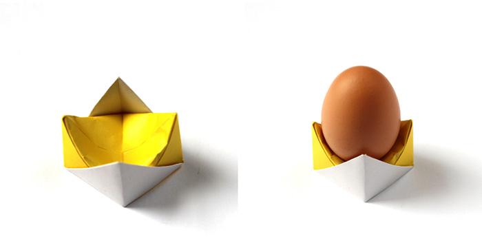 Kağıt Katlama İle Basit Yumurtalık Yapımı 10