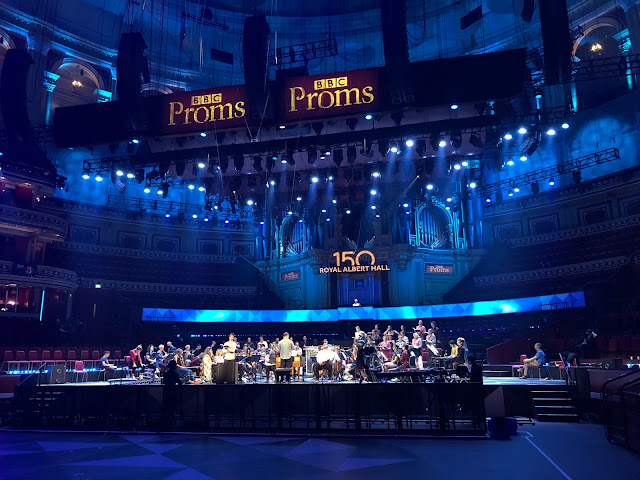 Bach: St Matthew Passion - Arcangelo in rehearsal at the Royal Albert Hall - BBC Proms