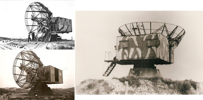 1/144 Radar Würzburg Riese diecast metal aircraft miniature