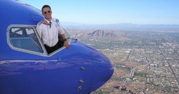 The last selfie of a pilot