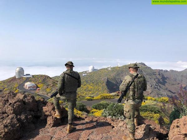 """El Mando de Canarias presente en siete islas Canarias. Como Mando Operativo Terrestre, unidades de la Brigada """"Canarias"""" XVI despliegan estos días en las diferentes islas del archipiélago canario"""