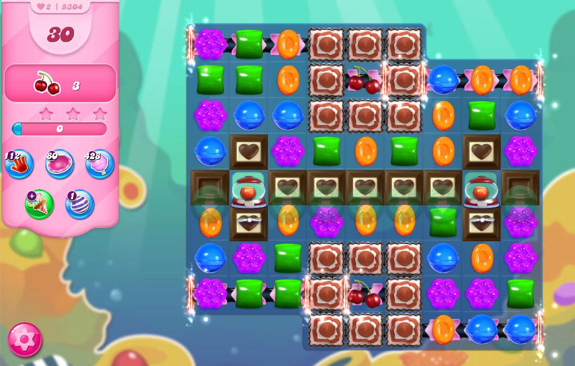 Candy Crush Saga level 5304