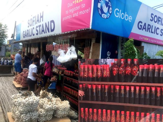 Sofiah Garlic Stand Badoc Ilocos Norte