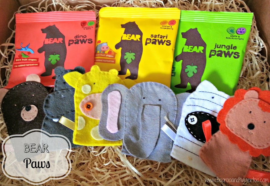 Boo Roo and Tigger Too: BEAR Paws Review
