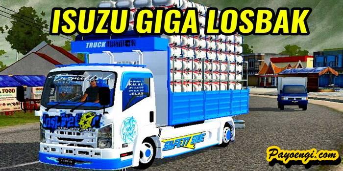 Mod Isuzu Giga Losbak