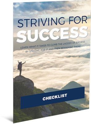 Striving For Success Checklist