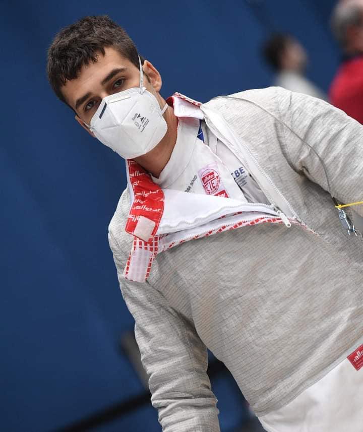 Bruno Pekelman Budapest world cup sabre fencing brazil esgrima