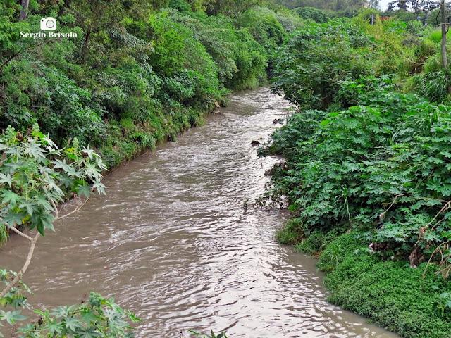 Vista de parte do Ribeirão dos Couros - Divisa São Paulo / São Bernardo do Campo - Zona Sul