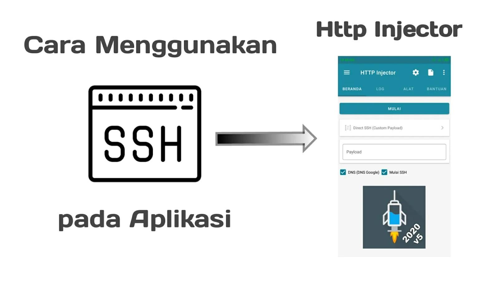 Cara Menggunakan SSH di Aplikasi HTTP Injector Android