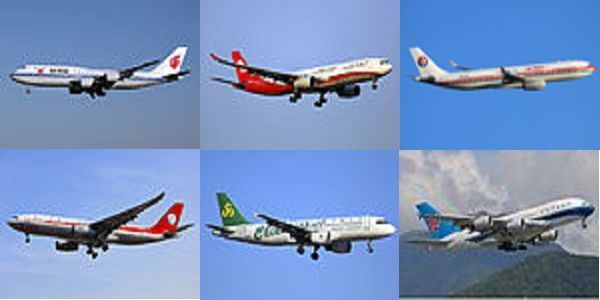 Top 6 Chinese International Airlines