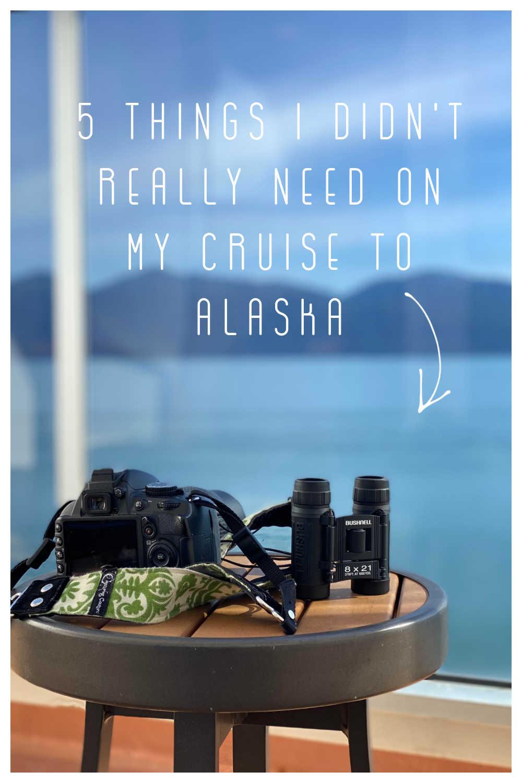 DON'T BRING TO ALASKA CRUISE