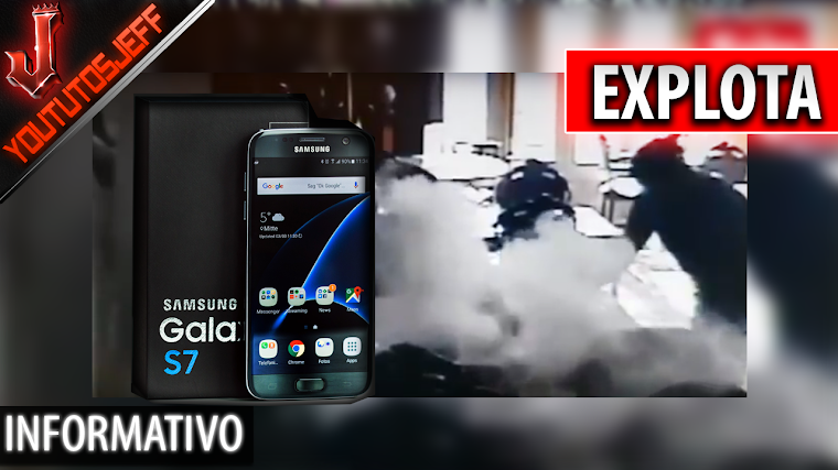 Un Samsung Galaxy S7 edge explota en una cafetería