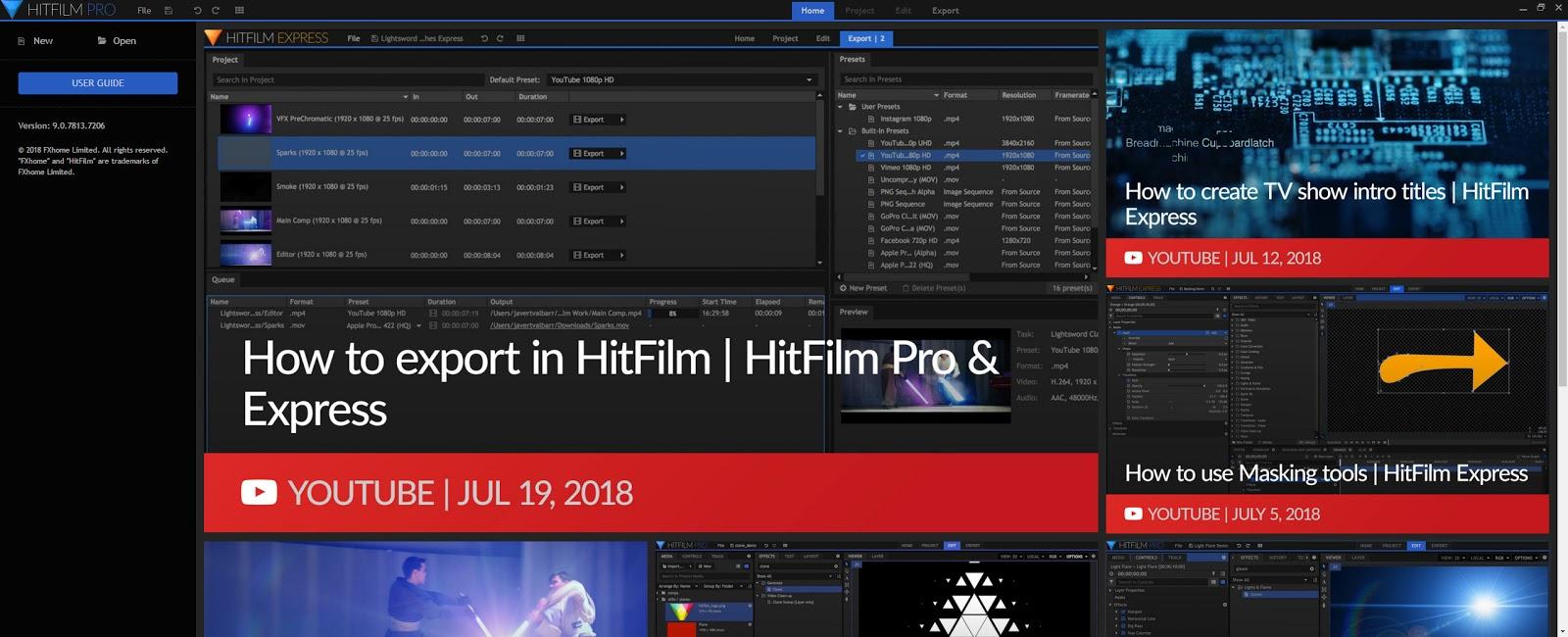 HitFilm Pro v11.0.8319.47197 Full version
