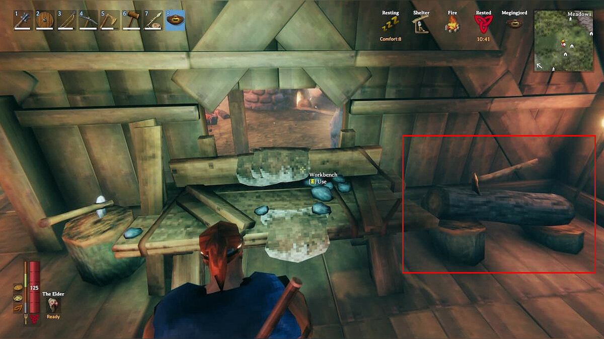How to upgrade a workbench in Valheim to level 4