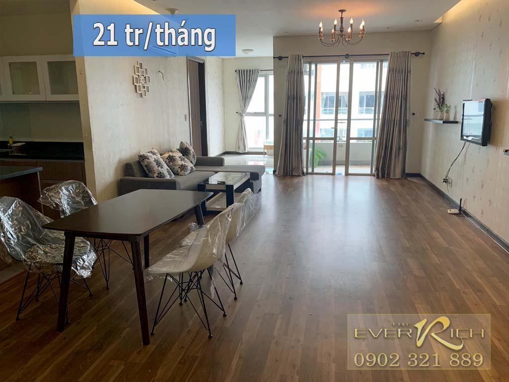 Cho thuê căn hộ The Everrich 1 nội thất đẹp rộng 115m2